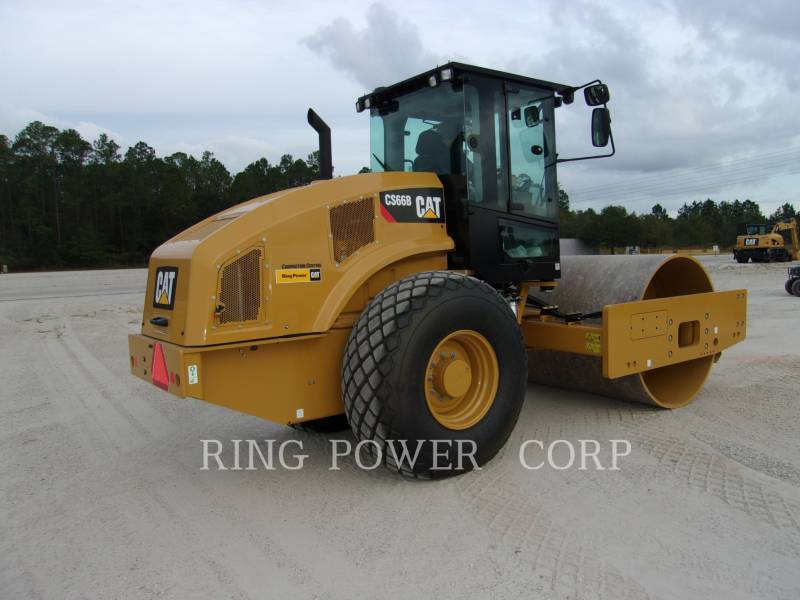 CATERPILLAR COMPACTEURS TANDEMS VIBRANTS CS66BCAB equipment  photo 3