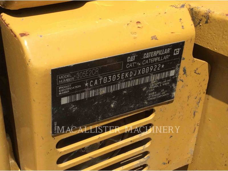 CATERPILLAR RUPSGRAAFMACHINES 305E equipment  photo 6