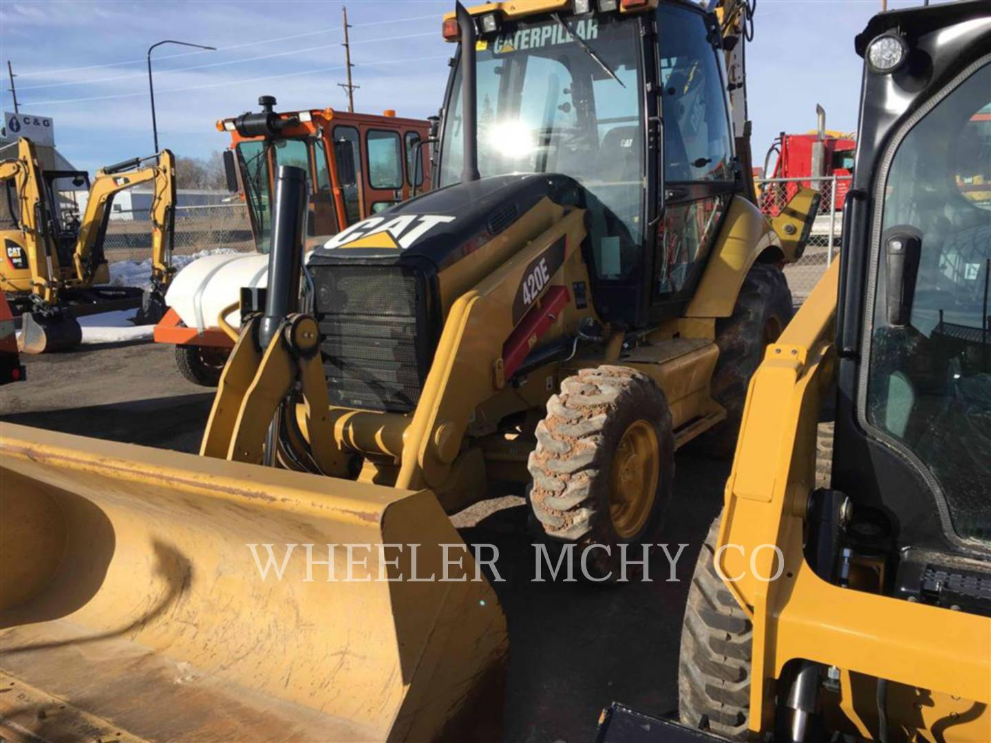 Detail photo of 2012 Caterpillar 420E from Construction Equipment Guide