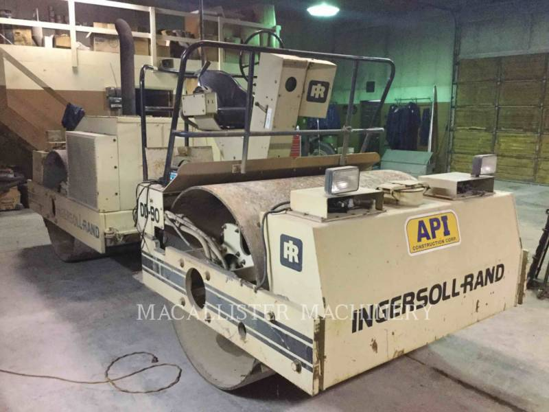 INGERSOLL-RAND VIBRATORY DOUBLE DRUM ASPHALT DD90 equipment  photo 1