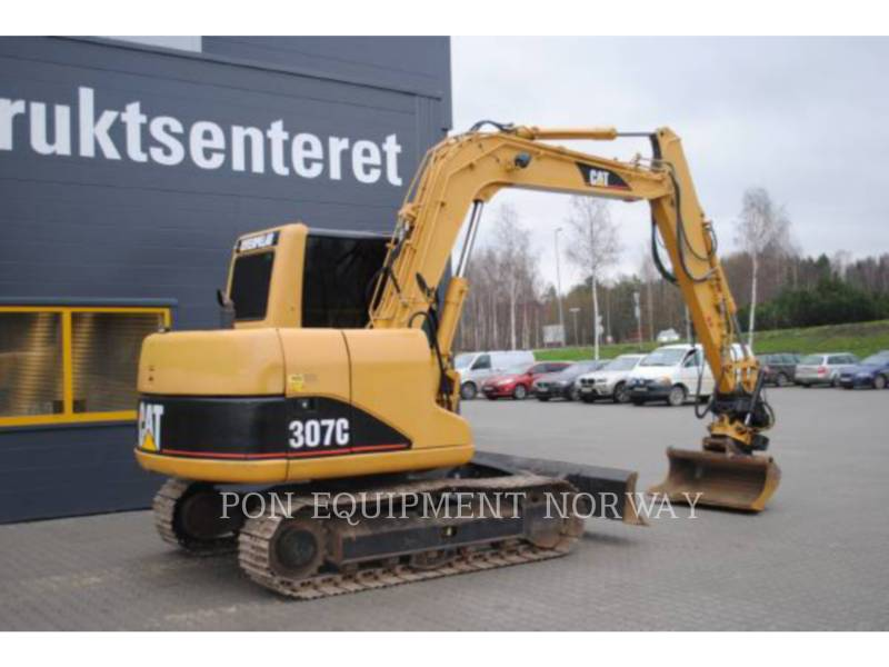 CATERPILLAR TRACK EXCAVATORS 307C equipment  photo 4