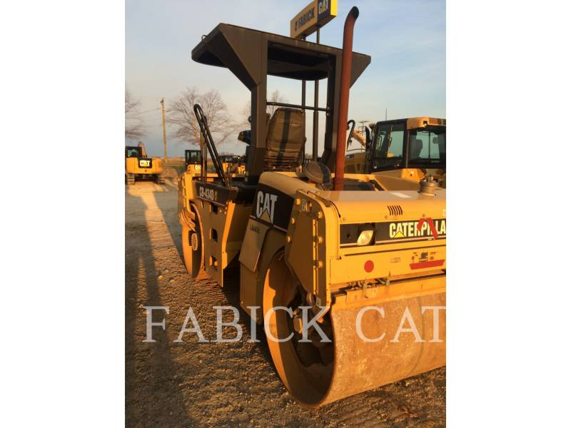 CATERPILLAR TAMBOR DOBLE VIBRATORIO ASFALTO CB434D equipment  photo 4