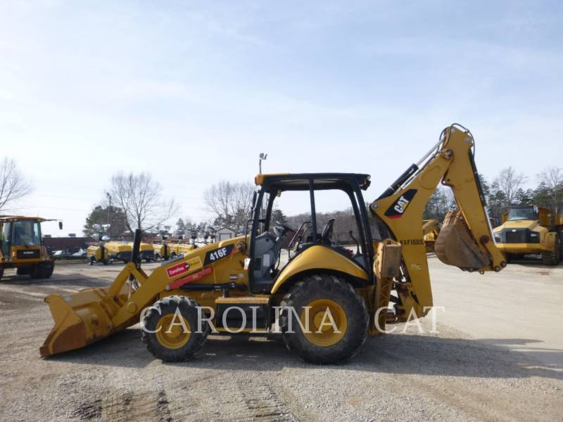 CATERPILLAR CHARGEUSES-PELLETEUSES 416F ST equipment  photo 2