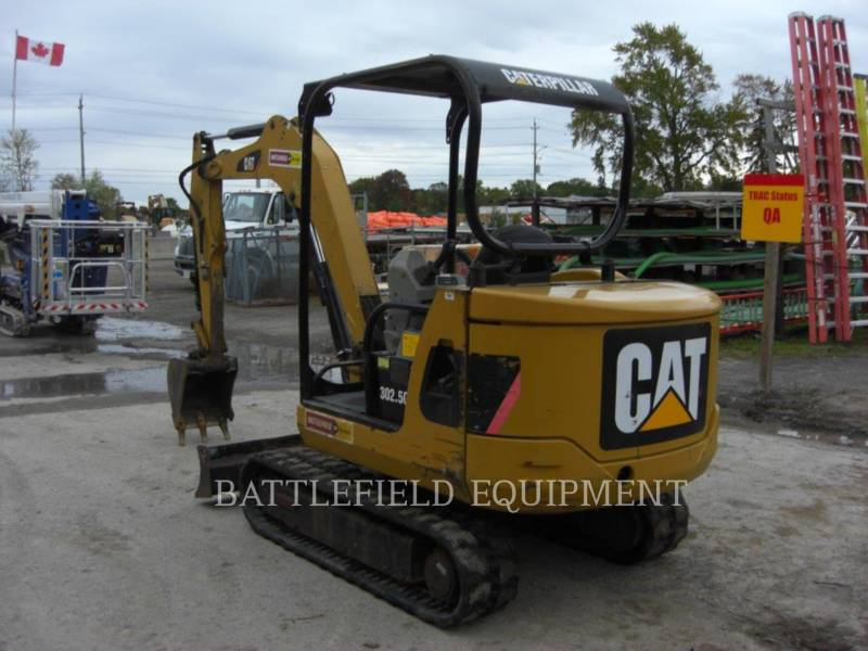 CATERPILLAR KETTEN-HYDRAULIKBAGGER 302.5C equipment  photo 4