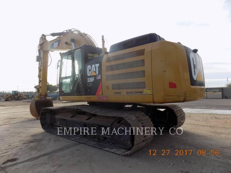 CATERPILLAR TRACK EXCAVATORS 336FL XE P equipment  photo 3