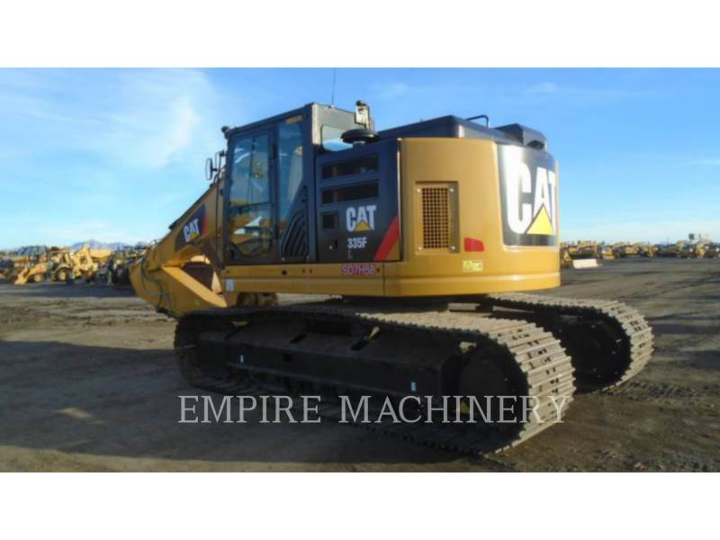CATERPILLAR KOPARKI GĄSIENICOWE 335FLCR equipment  photo 3