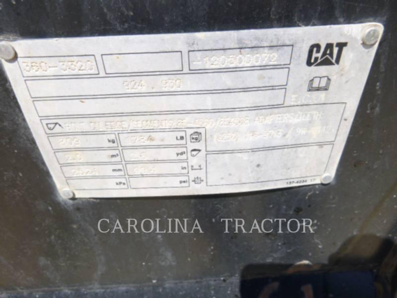 CATERPILLAR WHEEL LOADERS/INTEGRATED TOOLCARRIERS 924K equipment  photo 12