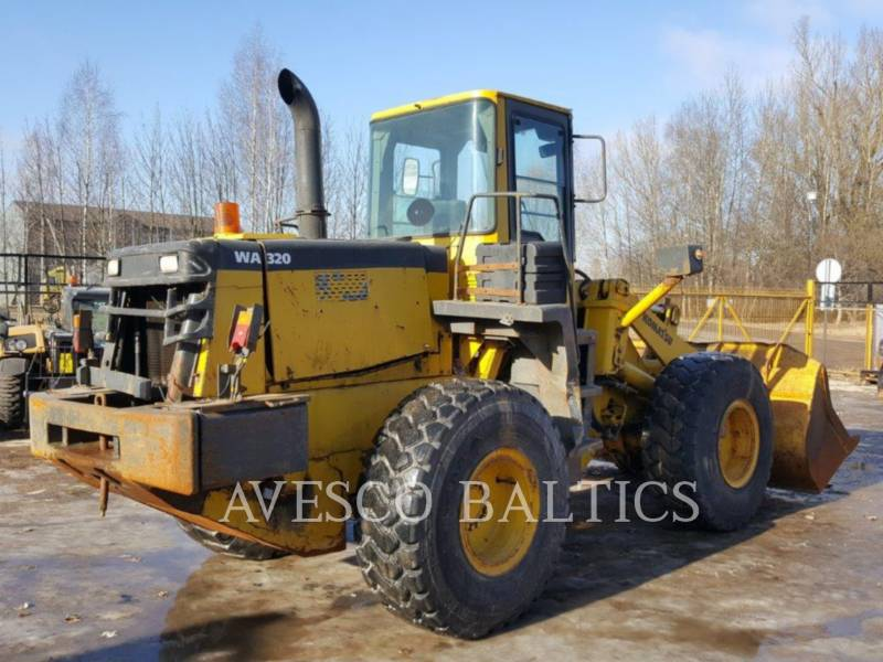 KOMATSU WHEEL LOADERS/INTEGRATED TOOLCARRIERS WA320-3H equipment  photo 4
