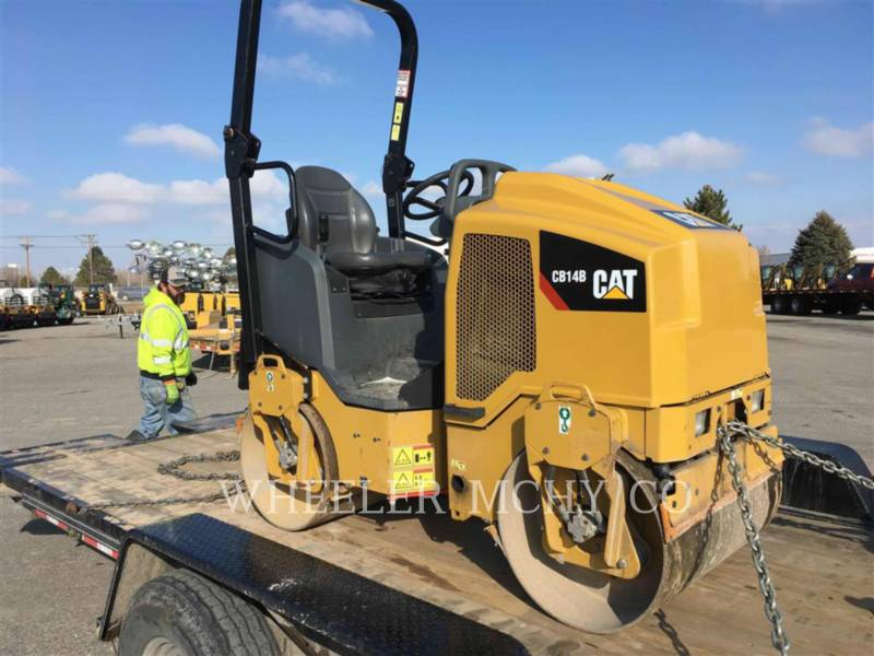 CATERPILLAR VIBRATORY DOUBLE DRUM ASPHALT CB14B equipment  photo 2