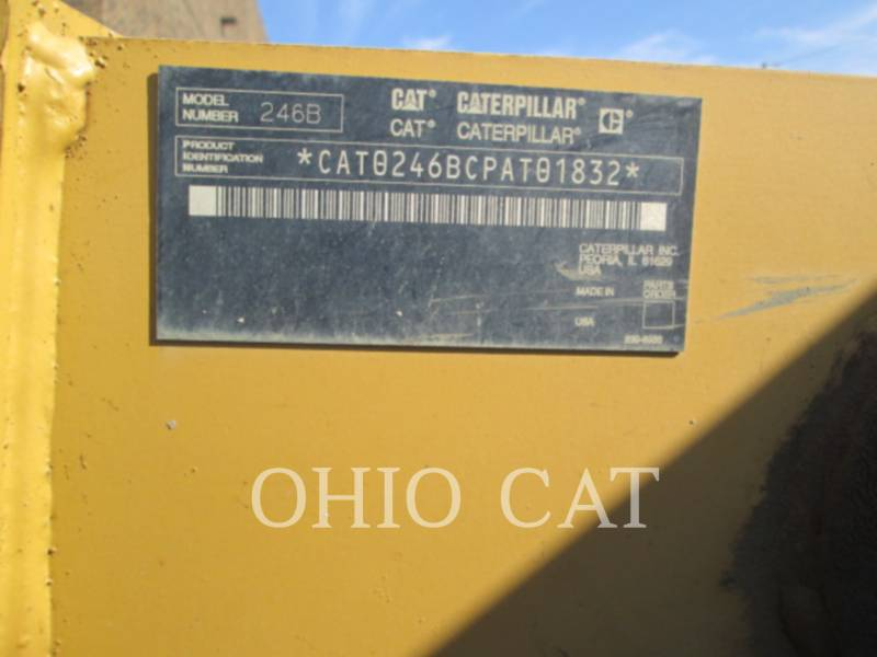 CATERPILLAR SKID STEER LOADERS 246B equipment  photo 5