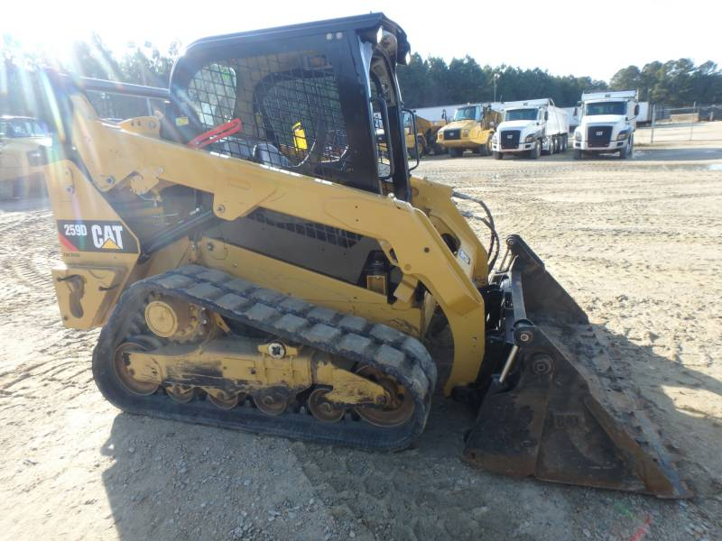 CATERPILLAR DELTALADER 259D equipment  photo 5