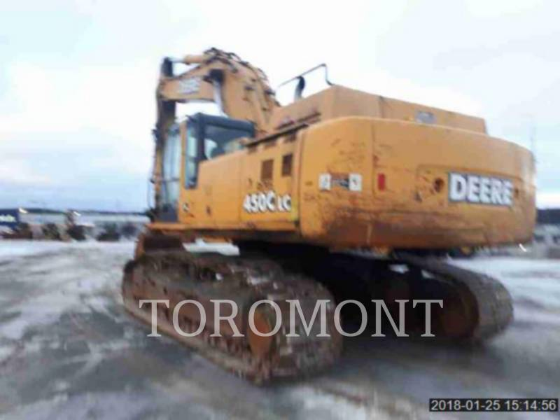 DEERE & CO. TRACK EXCAVATORS 450CLC equipment  photo 2