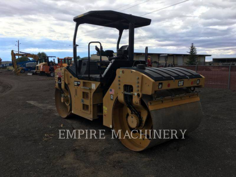 CATERPILLAR TANDEMVIBRATIONSWALZE, ASPHALT CB54B equipment  photo 2