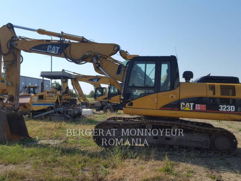CATERPILLAR KETTEN-HYDRAULIKBAGGER 323DS equipment  photo 2