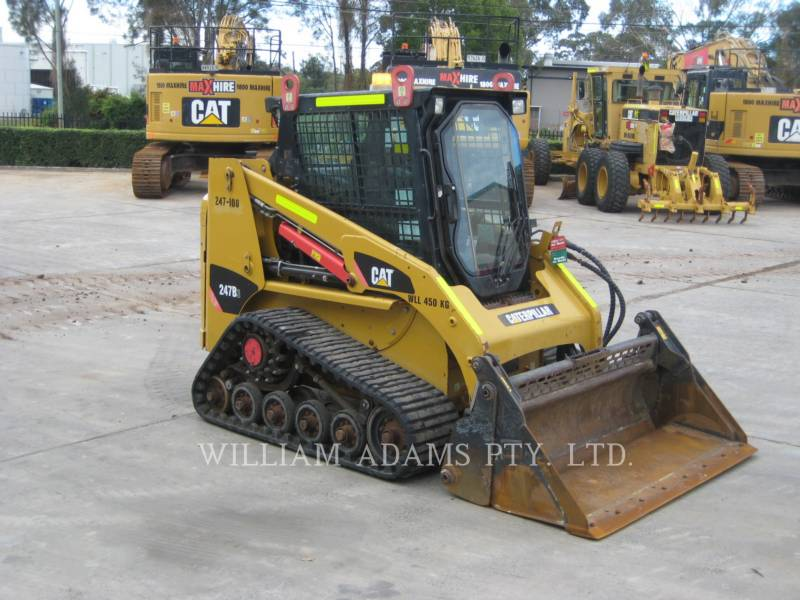 CATERPILLAR CHARGEURS TOUT TERRAIN 247 B SERIES 3 equipment  photo 1