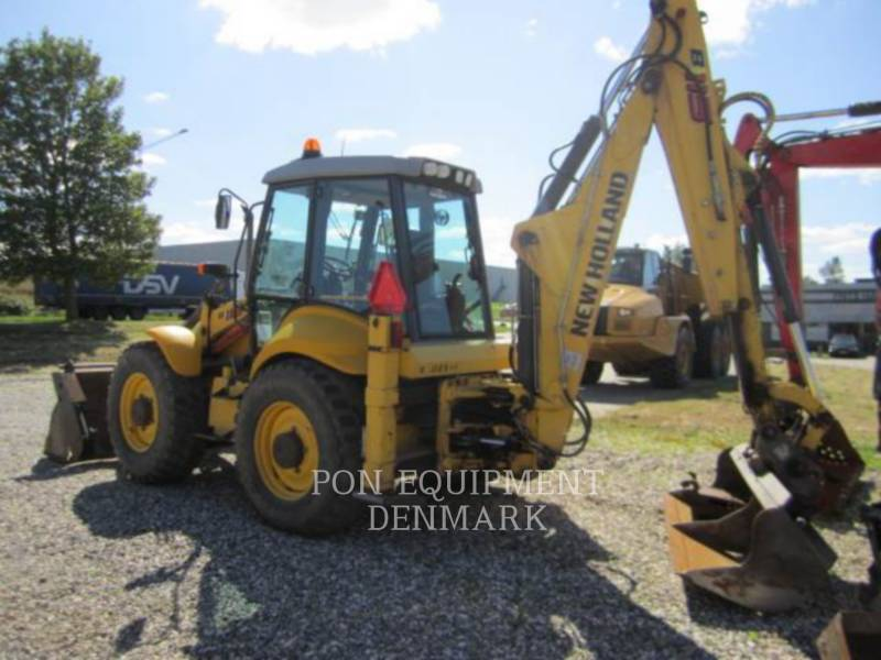 NEW HOLLAND LTD. KOPARKO-ŁADOWARKI B115 4PS equipment  photo 14