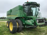 DEERE & CO. COMBINES S660 equipment  photo 3