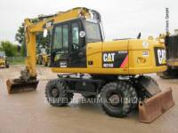 CATERPILLAR PELLES SUR PNEUS M315D equipment  photo 1