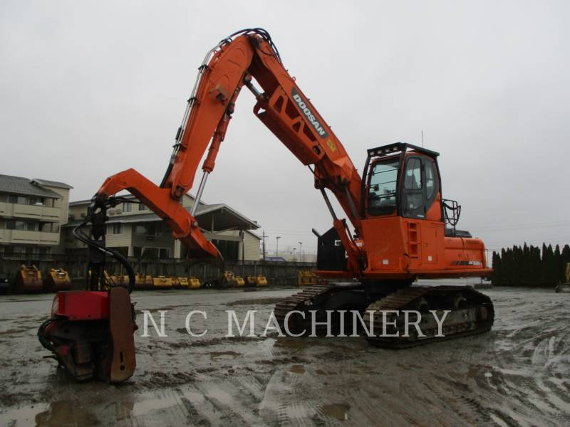 DOOSAN INFRACORE AMERICA CORP. MASZYNA LEŚNA DX300LL equipment  photo 1