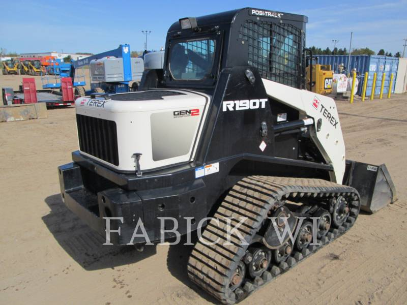 TEREX CORPORATION SKID STEER LOADERS R190T equipment  photo 4