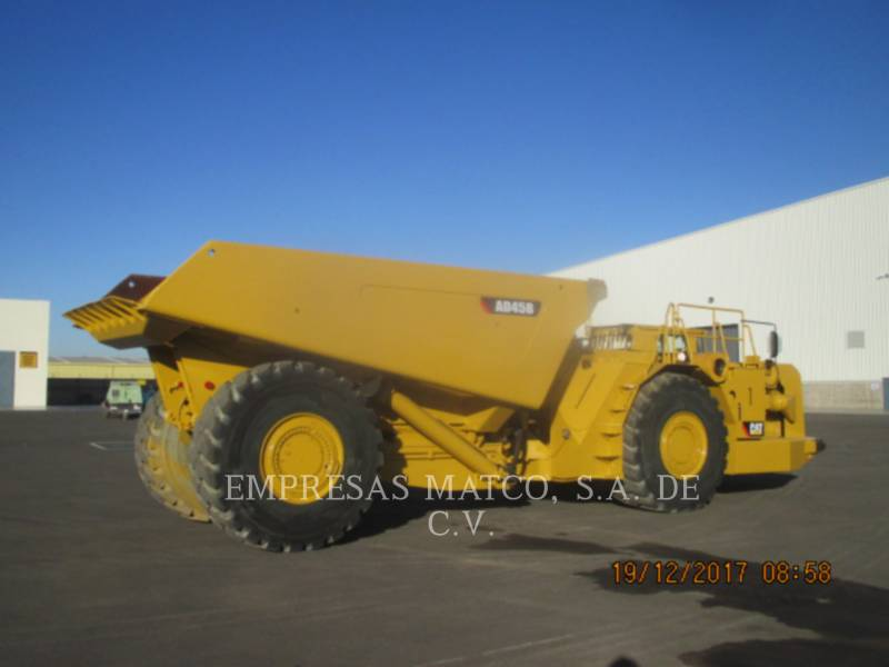 CATERPILLAR UNDERGROUND ARTICULATED TRUCK AD45B equipment  photo 5