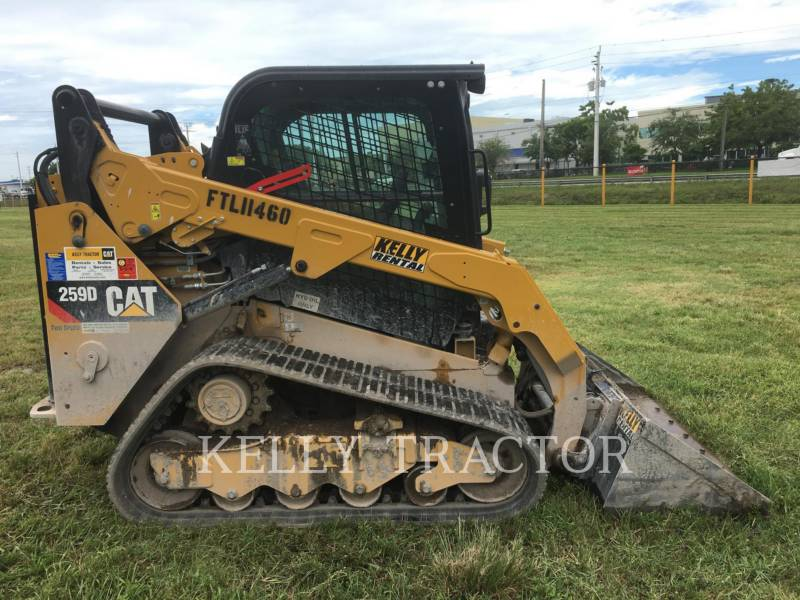 Caterpillar ÎNCĂRCĂTOARE PENTRU TEREN ACCIDENTAT 259 D equipment  photo 2