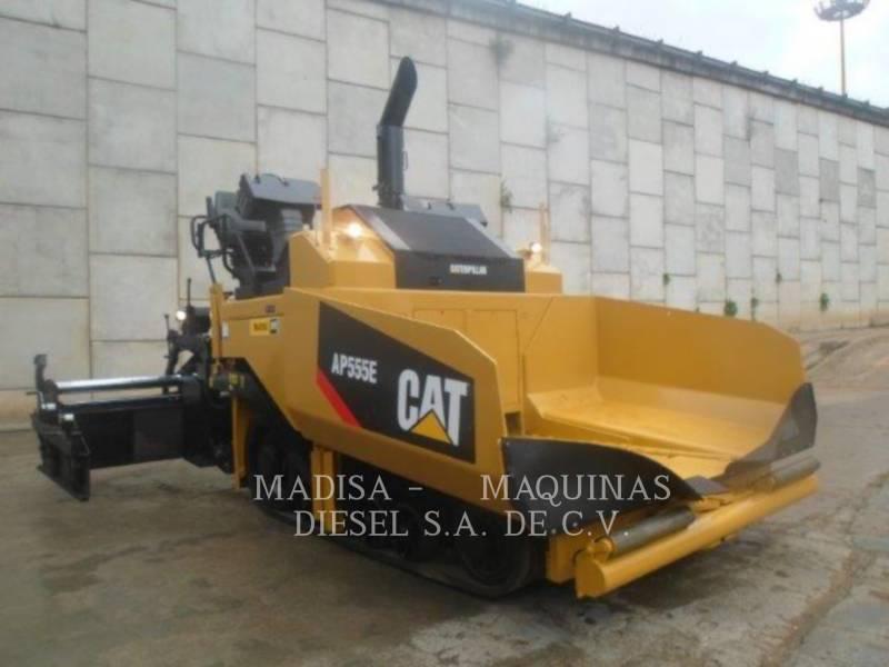 CATERPILLAR PAVIMENTADORA DE ASFALTO AP555E equipment  photo 1