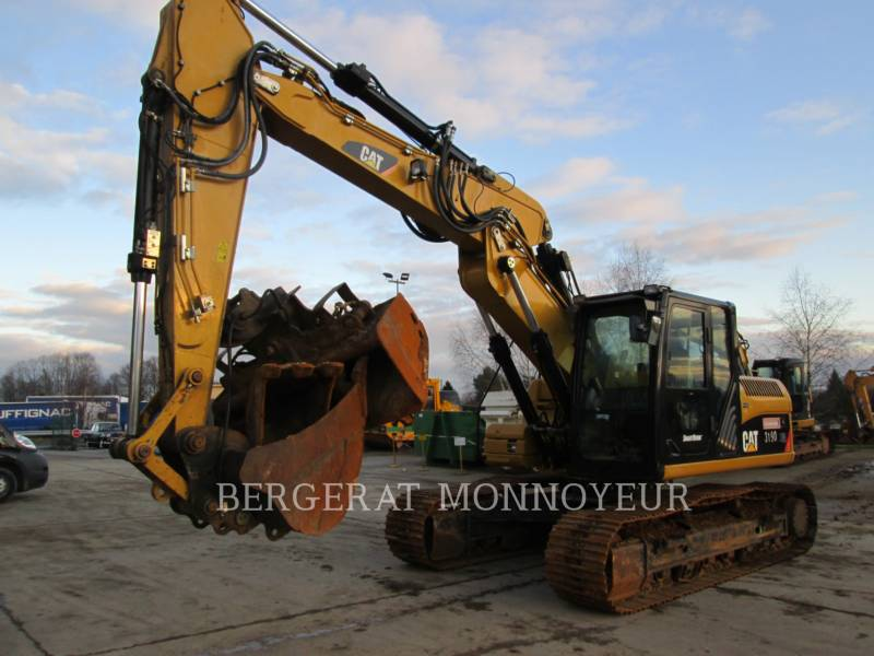 CATERPILLAR KETTEN-HYDRAULIKBAGGER 319D equipment  photo 3