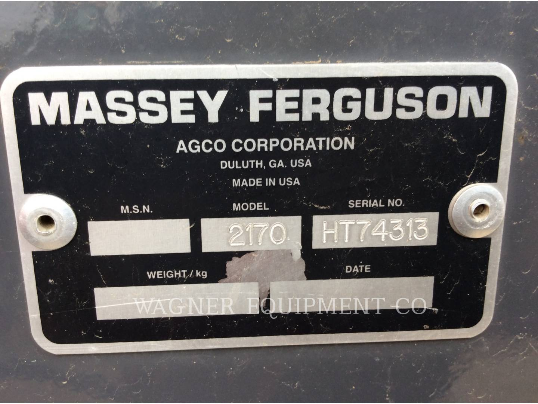 Detail photo of 2008 Massey Ferguson 2170 from Construction Equipment Guide