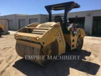 CATERPILLAR COMPATTATORE PER ASFALTO A DOPPIO TAMBURO VIBRANTE CB54 equipment  photo 2