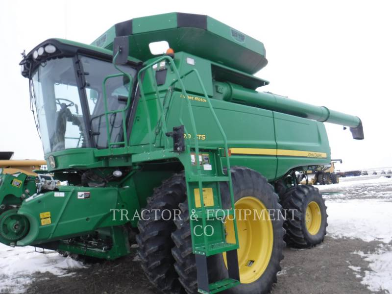 JOHN DEERE COMBINES 9870 equipment  photo 3