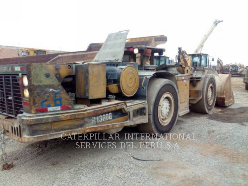 CATERPILLAR UNDERGROUND MINING LOADER R1300G equipment  photo 4