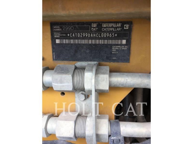 Caterpillar ÎNCĂRCĂTOARE PENTRU TEREN ACCIDENTAT 299D equipment  photo 5