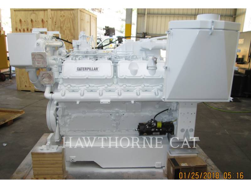 CATERPILLAR MARINE PROPULSION / AUXILIARY ENGINES 3412C DITA equipment  photo 5