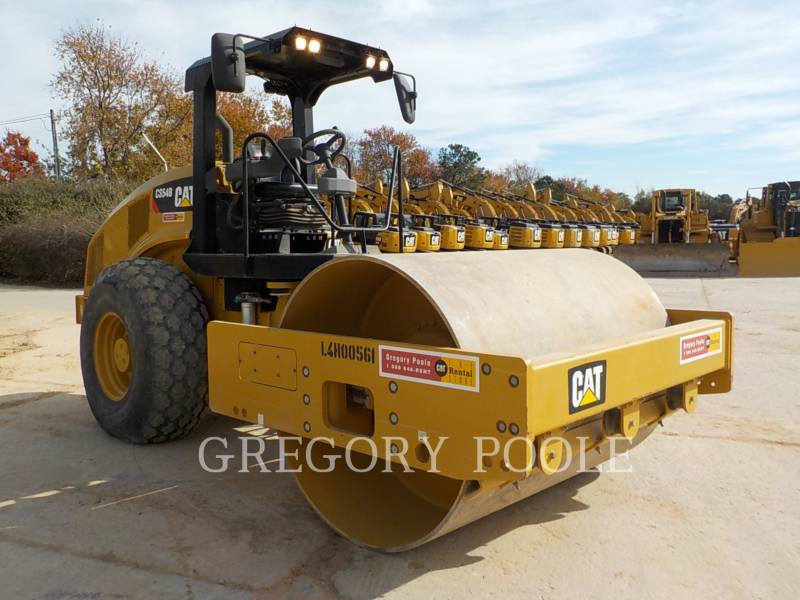 CATERPILLAR COMPACTEUR VIBRANT, MONOCYLINDRE LISSE CS-54B equipment  photo 4