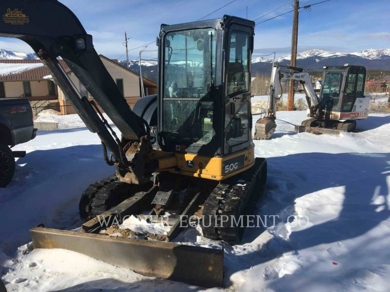 JOHN DEERE PELLE MINIERE EN BUTTE 50GS equipment  photo 1
