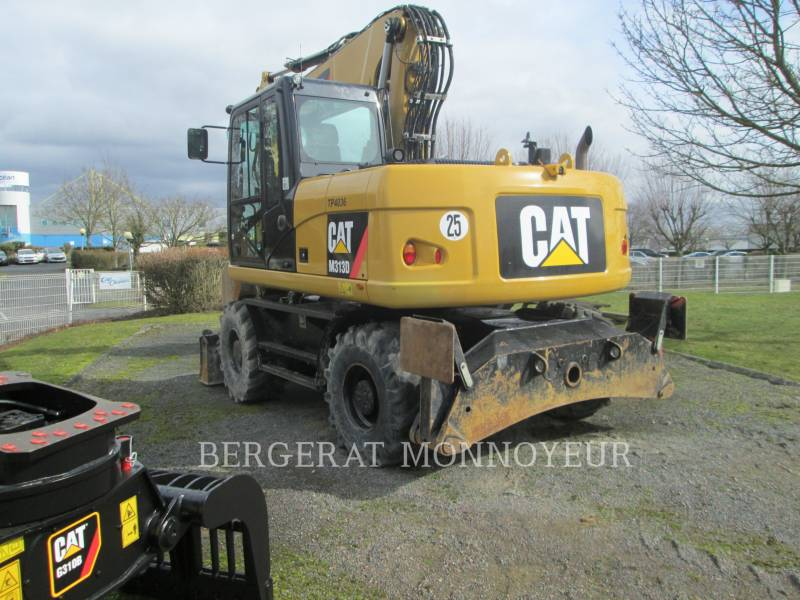 CATERPILLAR EXCAVADORAS DE RUEDAS M313D equipment  photo 6