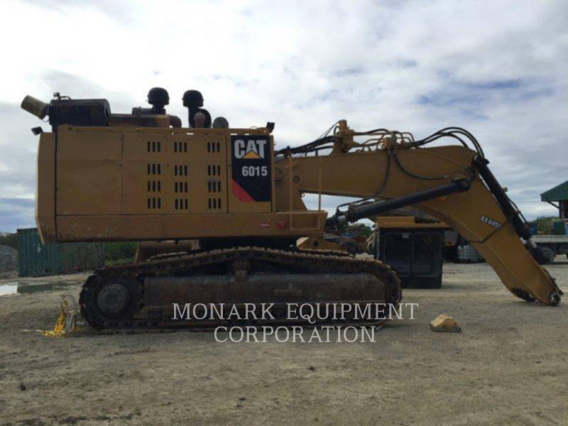 CATERPILLAR KETTEN-HYDRAULIKBAGGER 6015 equipment  photo 5