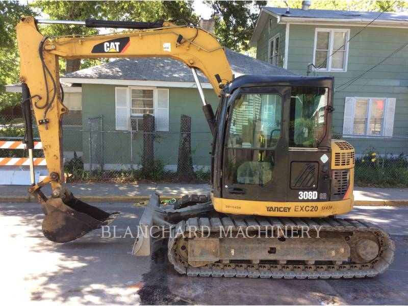 CATERPILLAR TRACK EXCAVATORS 308DCR equipment  photo 2