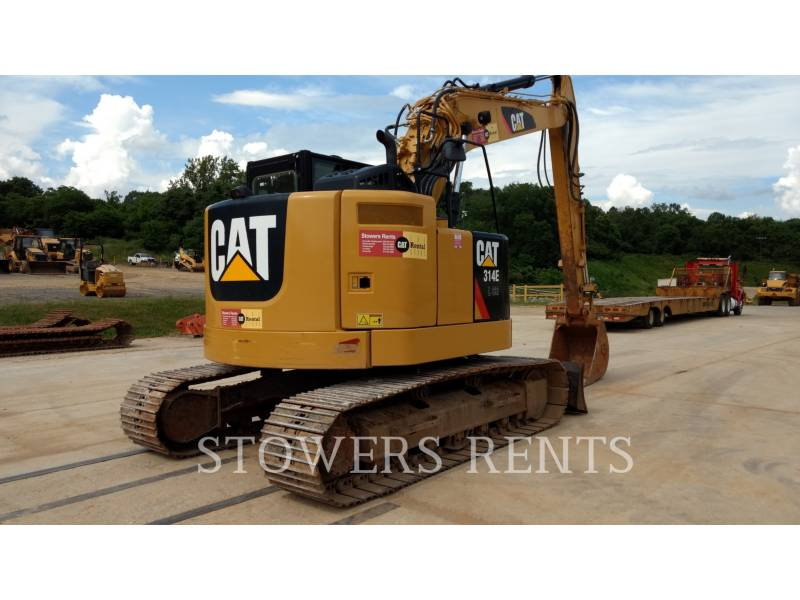 CATERPILLAR KETTEN-HYDRAULIKBAGGER 314E CR equipment  photo 3