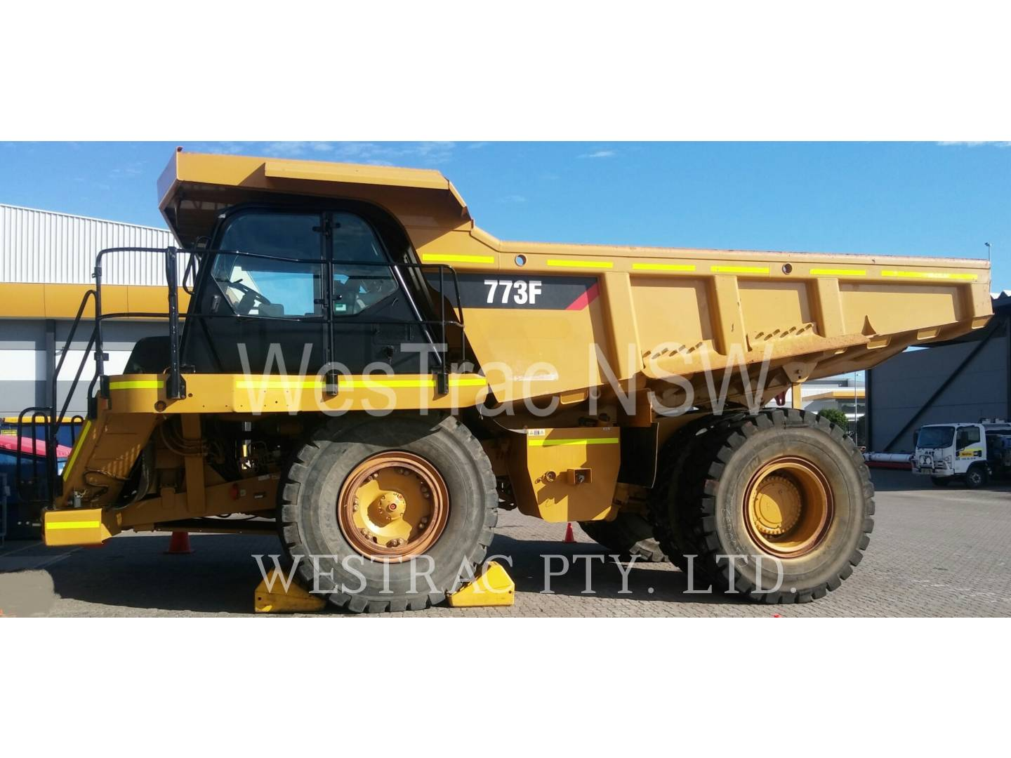 Used machinery cat used used equipment for sale westrac caterpillar 773f fandeluxe Images