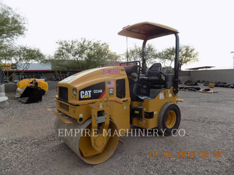CATERPILLAR COMPACTEURS TANDEMS VIBRANTS CC34B equipment  photo 4