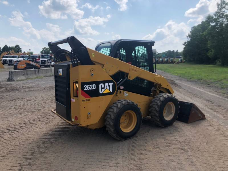 CATERPILLAR SCHRANKLADERS 262 D equipment  photo 9