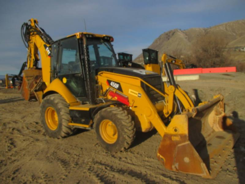 CATERPILLAR RETROESCAVADEIRAS 450F equipment  photo 1