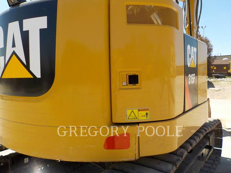 CATERPILLAR TRACK EXCAVATORS 315FLCR equipment  photo 12