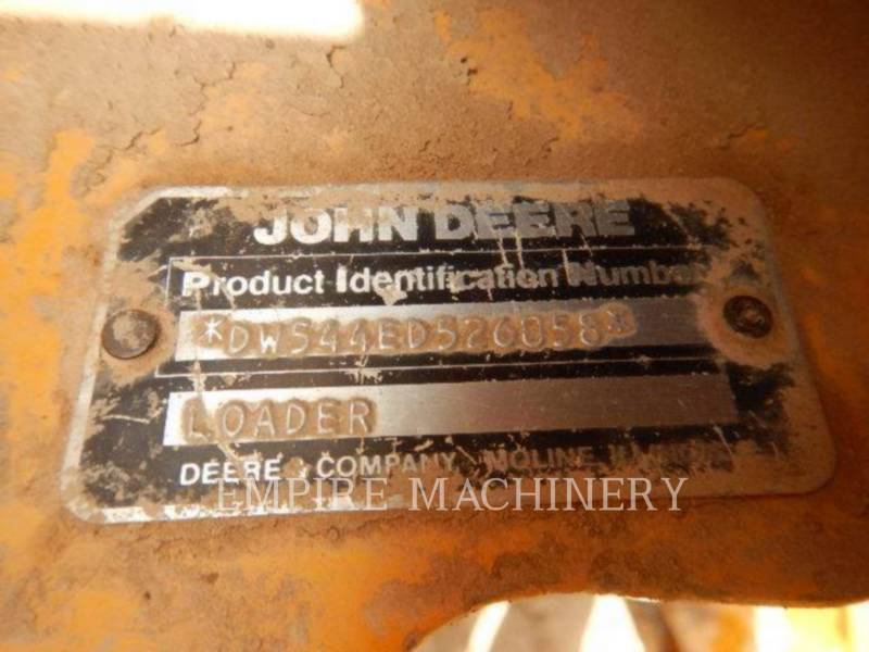 JOHN DEERE CARGADORES DE RUEDAS 544E equipment  photo 11