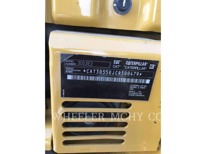 CATERPILLAR KETTEN-HYDRAULIKBAGGER 305.5E2C3T equipment  photo 6