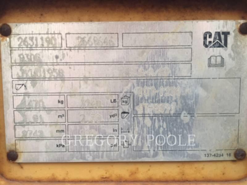 CATERPILLAR CHARGEURS SUR PNEUS/CHARGEURS INDUSTRIELS 930G equipment  photo 19