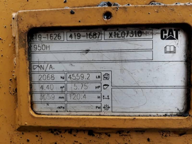 CATERPILLAR ŁADOWARKI KOŁOWE/ZINTEGROWANE NOŚNIKI NARZĘDZI 950GC equipment  photo 9