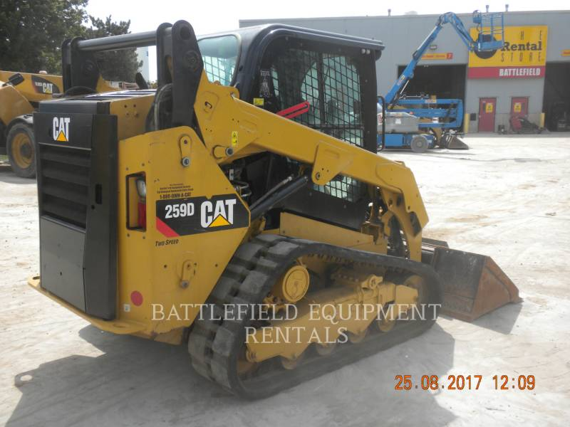 CATERPILLAR CARGADORES MULTITERRENO 259DLRC equipment  photo 5